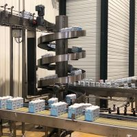 SV - Tetra packs being elevated